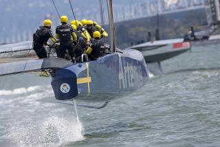 America's Cup : news de Thierry Fouchier en direct de San Francisco